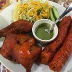 インディアンレストラン&バー GANGA - タンドリーチキンとシシカバブ