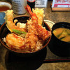 塩天丼 - 料理写真:【2015年10月】タレ天丼580円