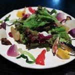 ラ・ボンヌターブル - 時期の野菜のお皿