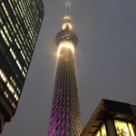 43291397 - スカイツリータワーにライトが灯りました☆♪☆