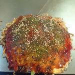 広島西条 - 肉玉そば+イカ天