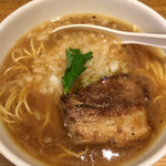 三四郎 - 片口&うるめ煮干しのニボ度4の中華そば