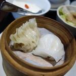 包龍 - セットの蒸し餃子