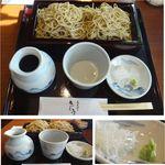 さとう - 十割割蕎麦。蕎麦切りさとう(安城市)食彩品館.jp撮影