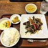 中華 萬福食堂 - 料理写真:A定食 (ご飯大盛り)(2015年10月)