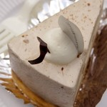 Patisserie Le Coeur - チョコとくりのタルト