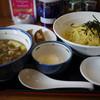 かかし - 料理写真:サバ節鶏つけ麺~☆