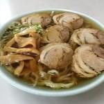 まるしま - チャーシュー麺 750円