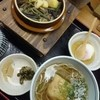 そばうどん 山びこ - 料理写真:栗釜飯、蕎麦