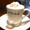 ぶいえいと - ドリンク写真:ウィンナコーヒー¥500(税込)ケーキとセットで¥450に☆♪