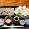手打ち蕎麦切り 海望 - 料理写真:天ぷら2色せいろ