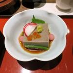 しら河 - 胡麻豆腐