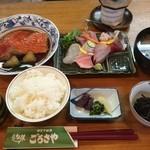 43352042 - 刺身と金目煮定食:2,200円