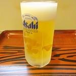 居酒屋 伝七 - 生ビール