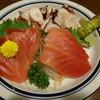 魚の北辰 - 料理写真:マルタ産生本まぐろと真蛸の刺身