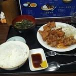 匠 - 唐揚げ定食