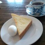 伯爵 - 本日のおすすめコーヒー(モーニングサービス)