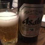 43381898 - 瓶ビール(アサヒ)