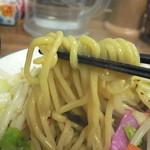 ちゃんぽん 一鶴 - 麺はこんな感じ