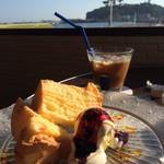i-na cafe - シフォンケーキ