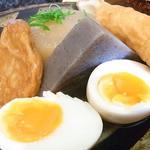 夢乃蕎麦 - 玉子・蒟蒻・大根・竹輪・平天の5種類☆♪