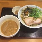 らあめん彩龍 - 魚介とんこつしょう油つけ麺〜(*^◯^*)♪