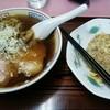 中華メモリー - 料理写真:Aセット(ラーメン+半チャーハン)700円