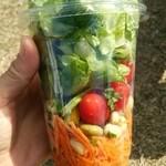 コストコ フードコート - ガーデンサラダ
