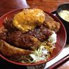 とん喜 - 料理写真:味噌カツ丼ズーム
