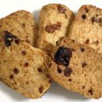 パン屋 水円 - 伊江島黒糖とココナッツのビスケット(\400)