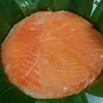 植万 - 料理写真:鱒寿司