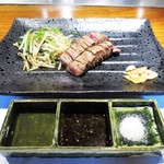 築地鉄板焼 Kurosawa - 岩手県産江刺牛もも肉