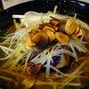 香屋 - 料理写真:漢(おとこ)カレー(ライスL)1350円+無料トッピングのガーリックオイル