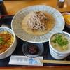 活水軒 - 料理写真:ミニ穴子どんぶりとざるそばのセット1350円