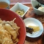よし川 - 天丼定食