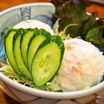天山閣ハイハイ横丁 - ポテトサラダ