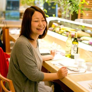 「カウンターで気軽に天ぷら」がmegoテーマ♡