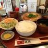 串処 満蔵 - 料理写真:柳川とんかつのセット1050円、ご飯大盛りサービス