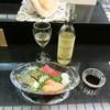 すし重 - 料理写真:お刺身盛り合わせ。〆鯖の昆布締め、中トロ、サーモン、アオリイカ