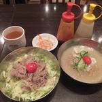 チェゴヤ - プルコギ丼と冷麺セット(2015年10月)