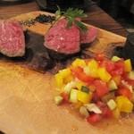 ニック - 熟成肉と非熟成肉の食べ比べ