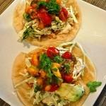 メキシカンな食堂TacoTaco - サラダのタコス