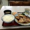 みどり食堂 - 料理写真:いただいた、明石鯛のあら煮定食990円です(2015.10.24)