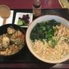 かき家さんち - 料理写真:海鮮うどん:セットは牡蠣ごはん
