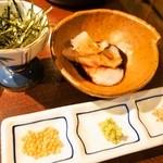鯛めしや はなび - 漬け茶漬けセット