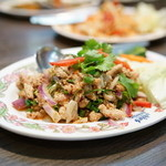 タイ国料理 ゲウチャイ - ラープ ガイ(1,026円)