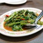 タイ国料理 ゲウチャイ - パッ パック ブン ファイデェーン(972円)