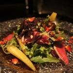 MAIMON - 彩り野菜のガーデンサラダ バルサミコドレッシング