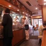 楽釜製麺所 - 左から右への移動式
