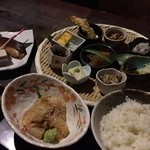 酒蔵 魚の家 - 鯛の胡麻茶漬け定食¥1000